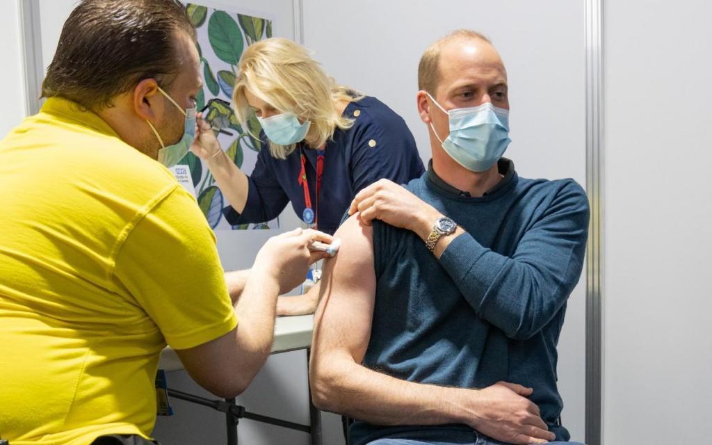 William vacinado