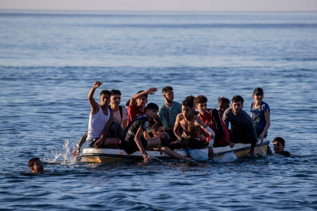 Crise migratória em Ceuta
