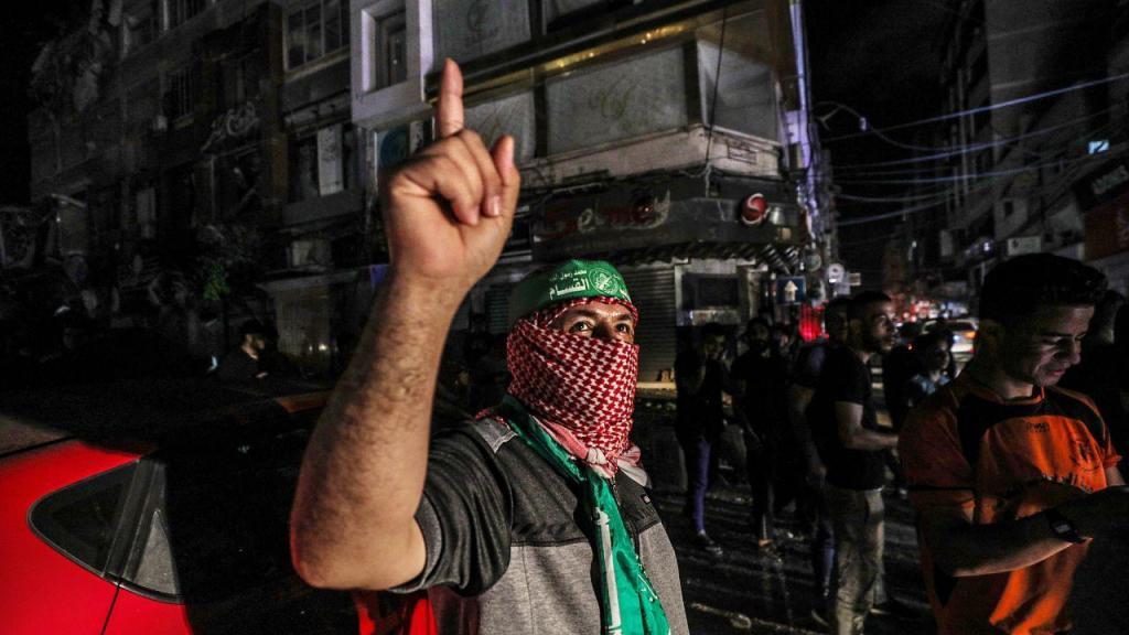 Celebrações do cessar-fogo em Gaza