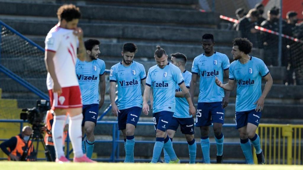 II Liga: Vizela-Vilafranquense (Fernando Veludo/LUSA)