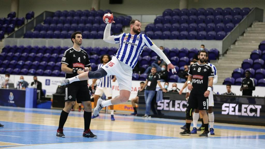 FC Porto-Águas Santas: dragões venceram por 35-32 e sagraram-se campeões nacionais (FC Porto)