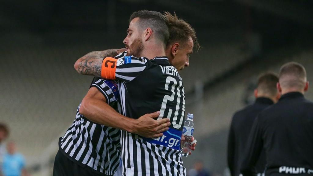 Vieirinha marcou venceu a Taça da Grécia (foto PAOK)