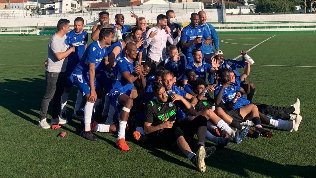 Montalegre festejou apuramento para a Liga 3 com vitória sobre o São Martinho (CDC Montalegre)