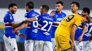 Sampdoria venceu o Parma na última jornada da liga italiana (Simone Arveda/EPA)