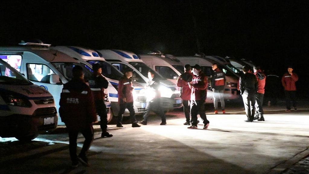 Intempérie durante corrida de montanha na China faz 21 mortos (Fan Peishen/Xinhua via AP)