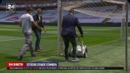 Cândido Costa marcou a linha de baliza para o Sp. Braga-Benfica