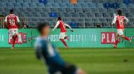 Ricardo Horta fez o 2-0 no Sp. Braga-Benfica (Lusa)