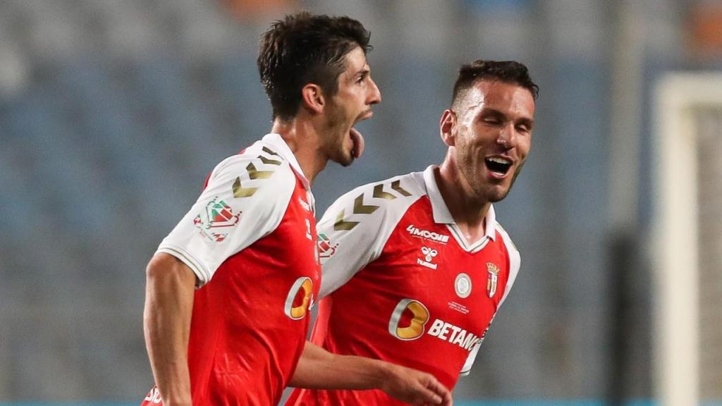 Piazon fez o 1-0 no Sp. Braga-Benfica (Lusa)