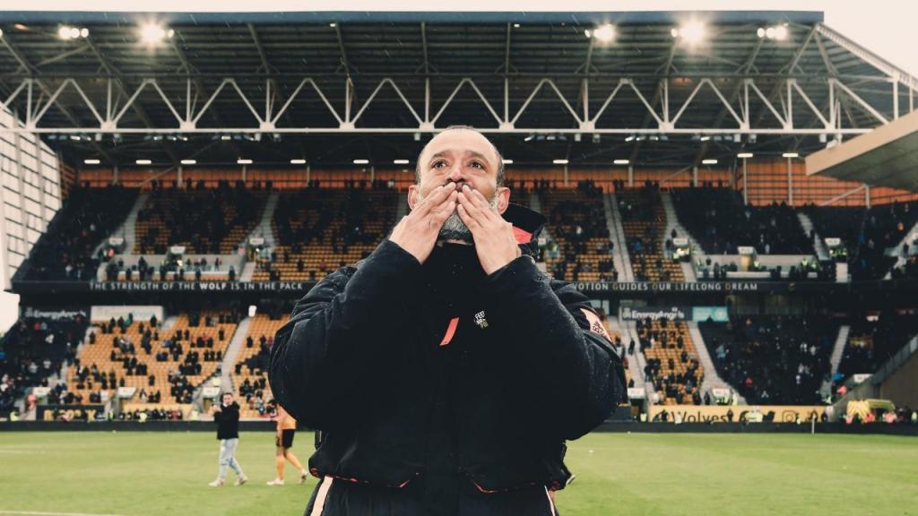 Nuno Espírito Santo no adeus ao Wolverhampton