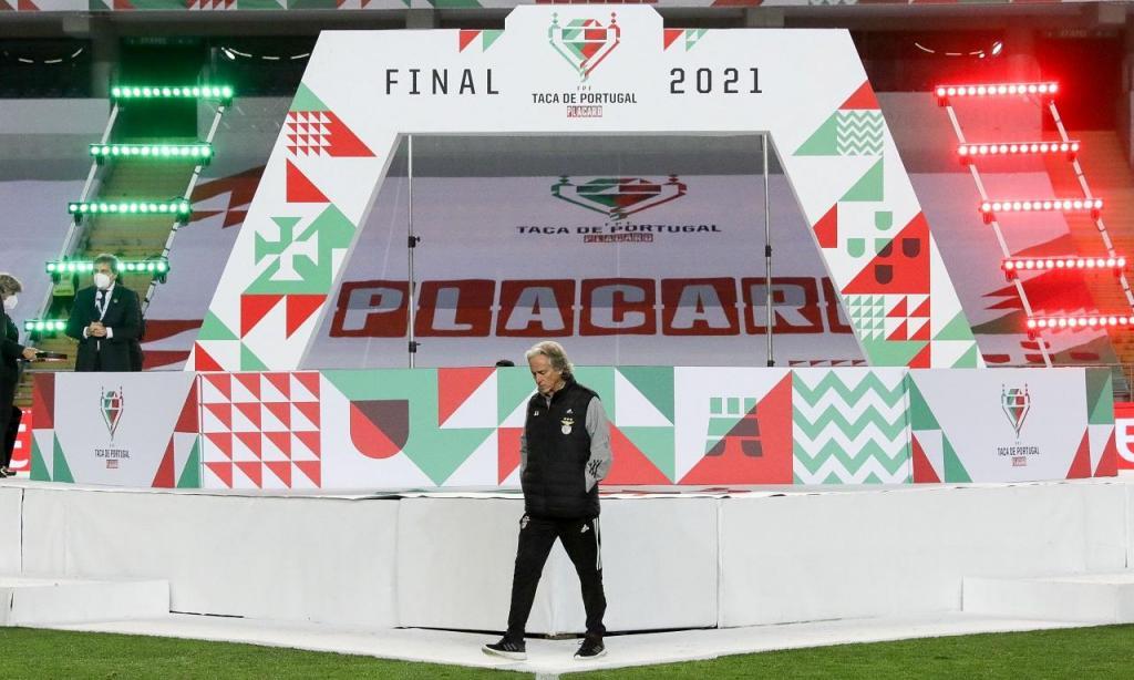 Jorge Jesus após a final da Taça de Portugal