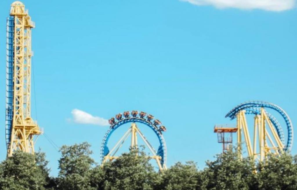 Parque Warner, em Madrid