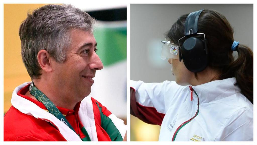Joana Castelão e João Costa conquistam medalha de bronze nos Europeus (DR)