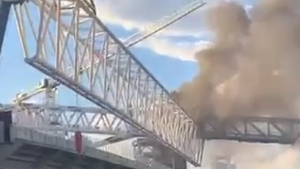 Pequeno incêndio no Santiago Bernabéu (Twitter Real Madrid FR)