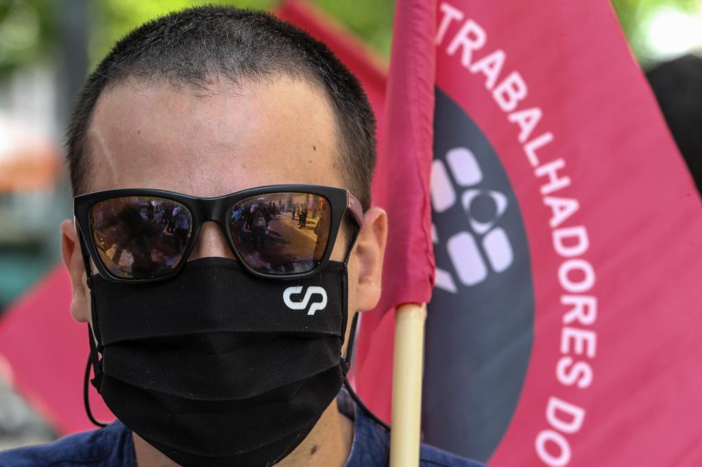 Trabalhadores da CP em greve