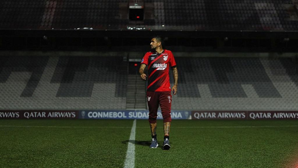Despedida de Lucho González (foto Athletico Paranaense)