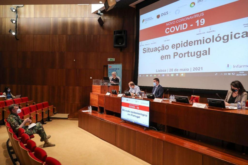 Sessão de apresentação sobre a