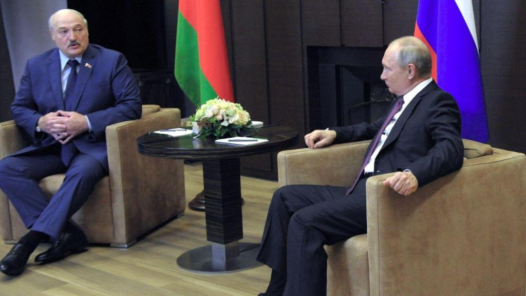 Alexander Lukashenko encontrou-se com Vladimir Putin