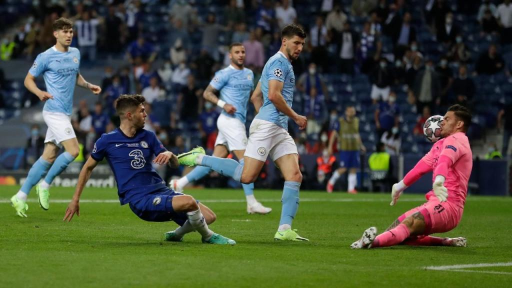 Manchester City-Chelsea (AP Photo/Manu Fernandez, Pool)