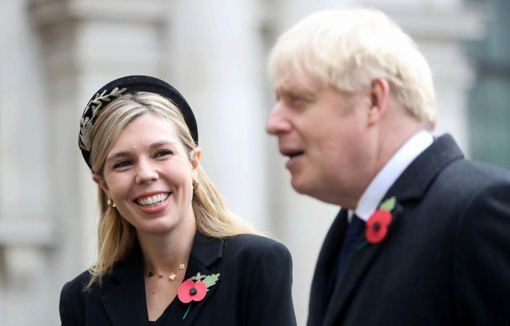 Carrie Symonds e Boris Johnson
