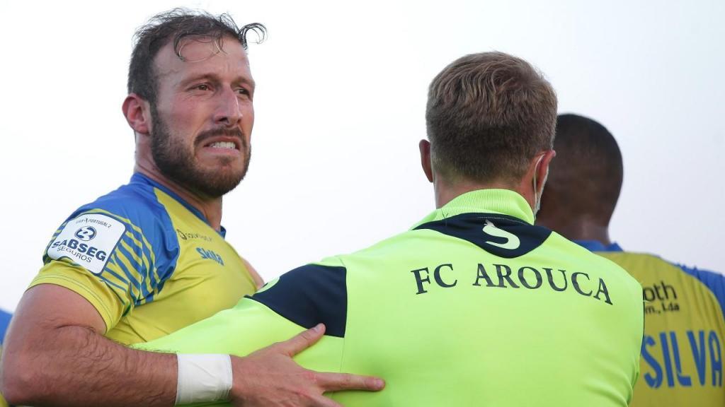 Arouca venceu Rio Ave e está na I Liga (MANUEL FERNANDO ARAÚJO/LUSA)