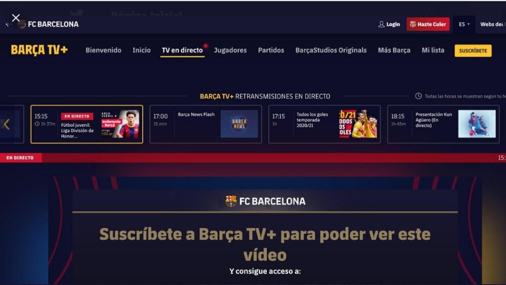 Barça TV (twitter)