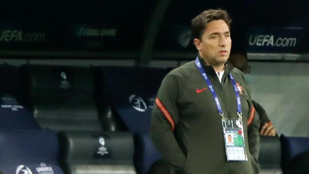 Euro sub-21: Rui Jorge no Portugal-Itália (Sandi Fiser/EPA)