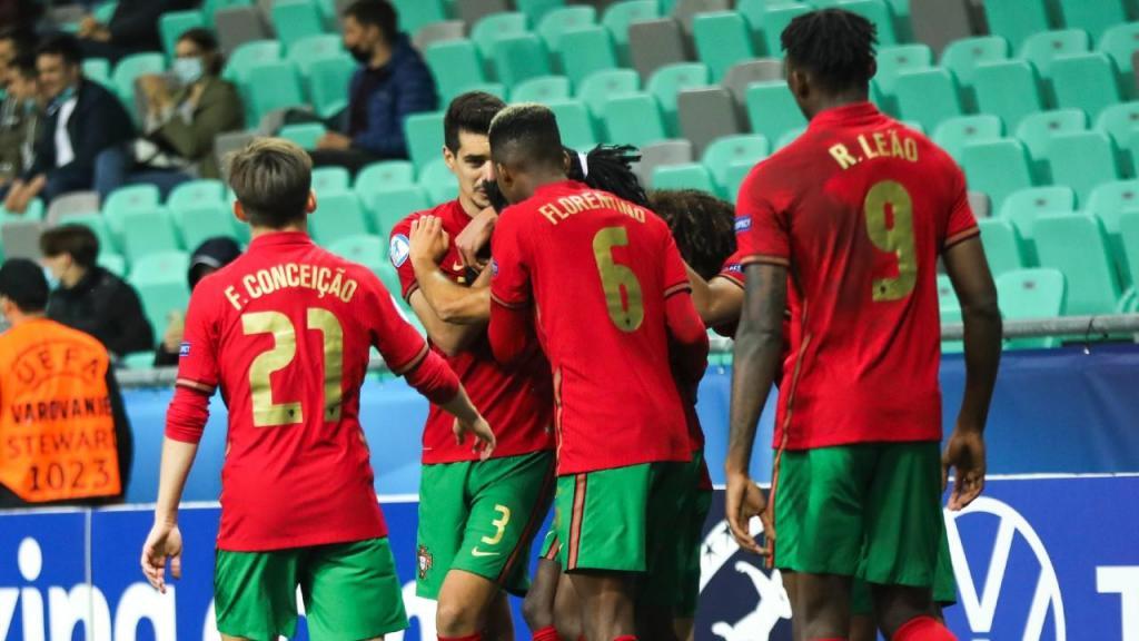 Euro sub-21: Portugal-Itália (Sandi Fiser/EPA)