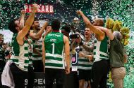 O Sporting sagrou-se campeão português de basquetebol 39 anos depois (José Sena Goulão/Lusa)