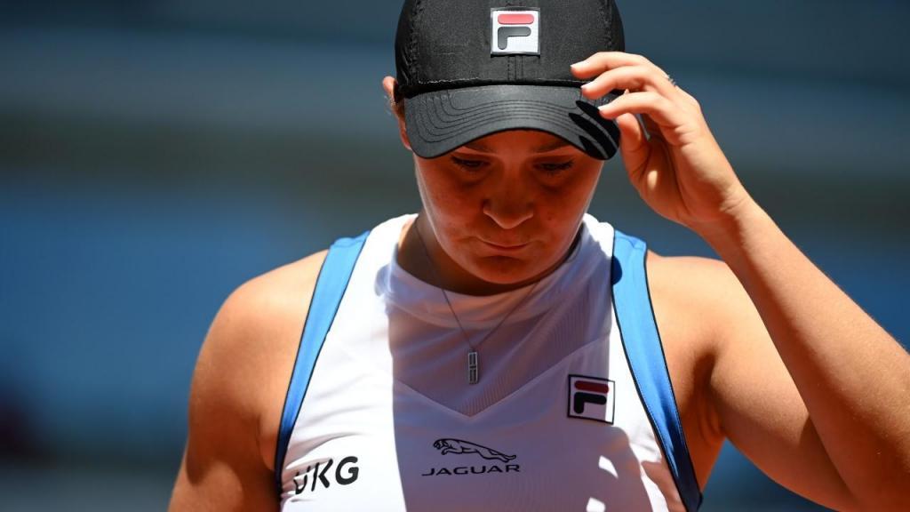 Ashleigh Barty em Roland Garros (Caroline Blumberg/EPA)