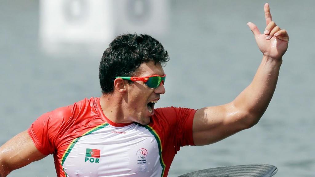 Emanuel Silva em 2012, nos Jogos Olímpicos (Armando França/AP)