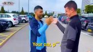 Aguero oferece Range Rover Evoque a roupeiro do City