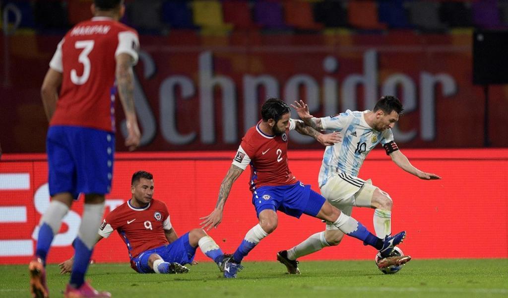 Argentina-Chile (EPA/Juan Mabromata/Pool)