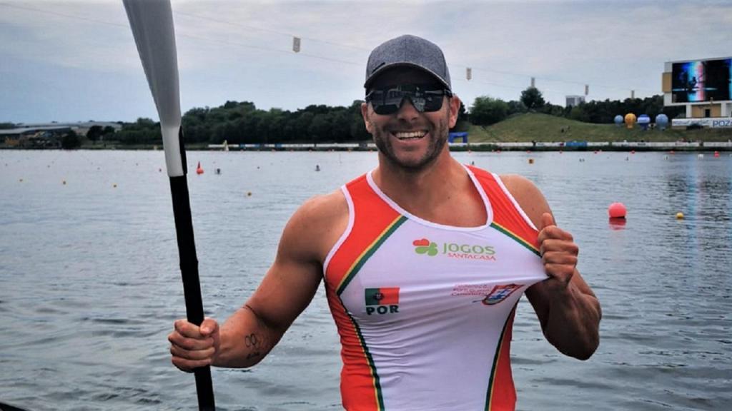 João Ribeiro (foto Federação Portuguesa de Canoagem)