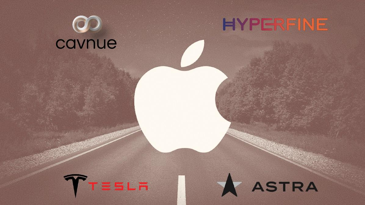 Apple is losing several cadres of the autonomous vehicle division to other companies