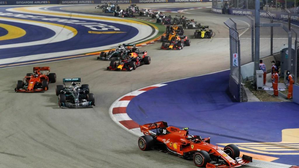 Grande Prémio de Singapura em Fórmula 1 (Vicent Thian/AP)