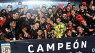Colón campeão argentino (EPA/Andres Larrovere)