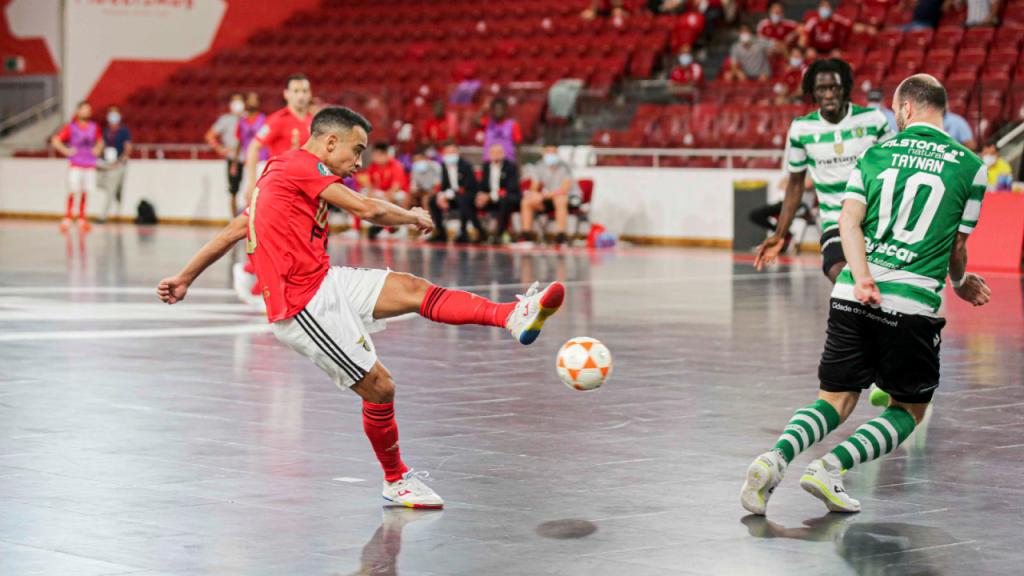 Benfica-Sporting, futsal (twitter Benfica)