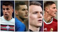 Os protagonistas do Grupo F do Euro2020 (montagem)