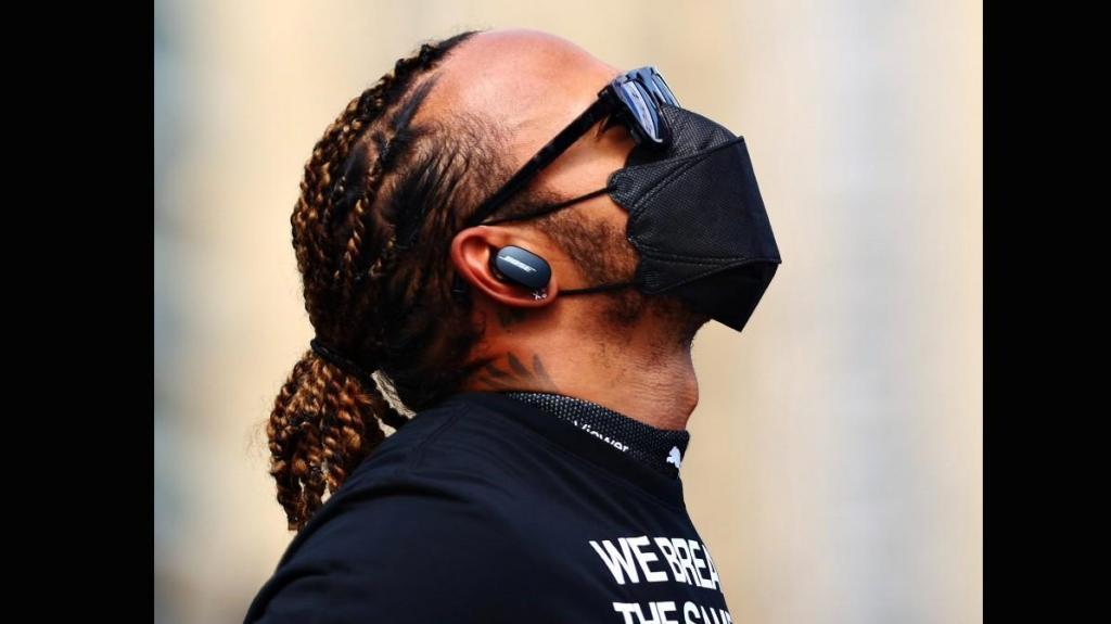 Lewis Hamilton (reprodução Twitter)
