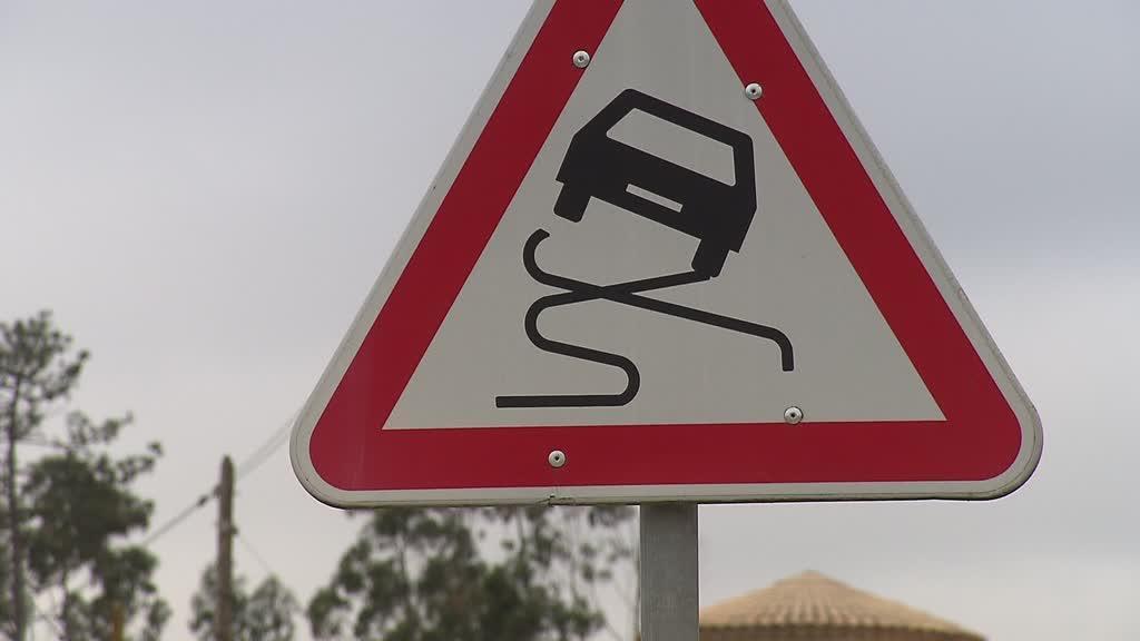 Estrada perigosa regista cada vez mais acidentes