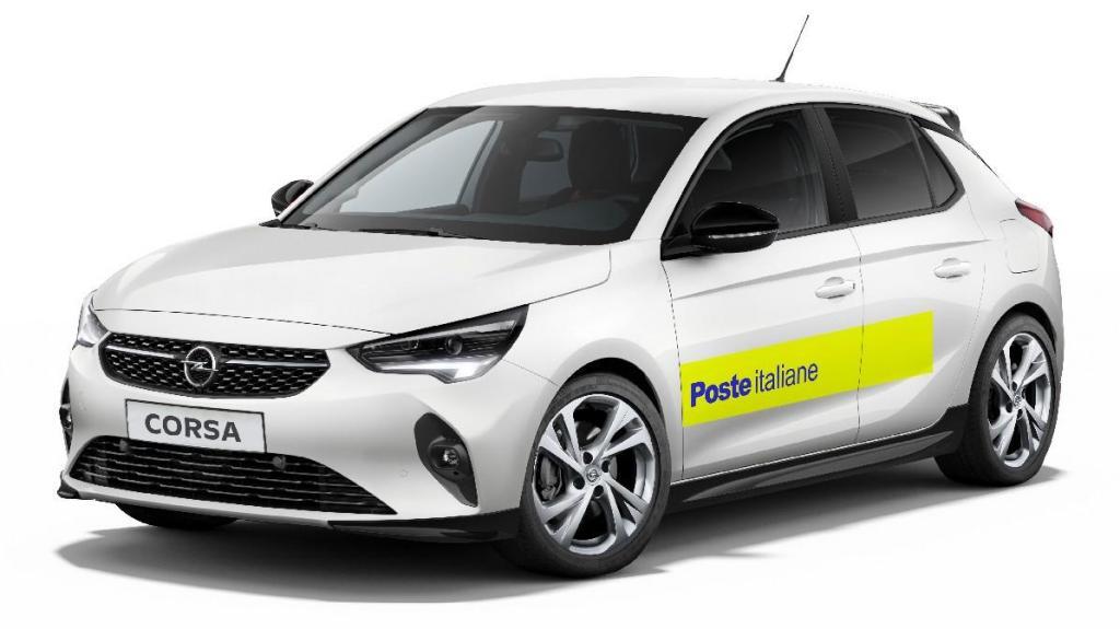 1.700 Opel Corsa-e para os Correios italianos