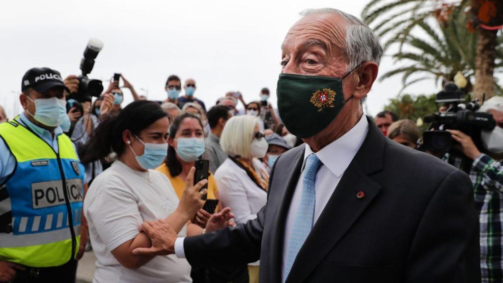 Presidente da República Marcelo Rebelo de Sousa visita a Madeira