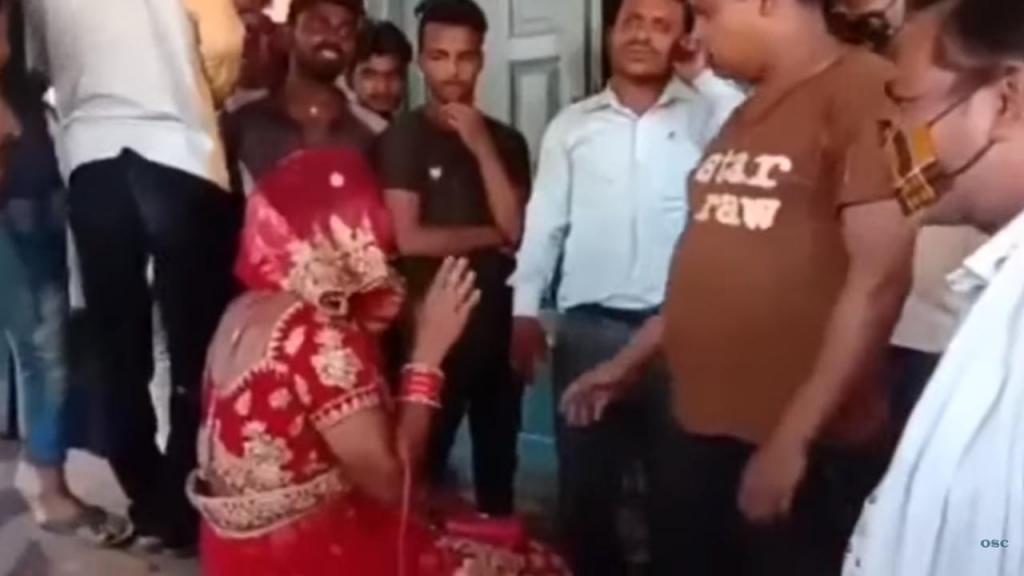 Agredido por se vestir de noiva para entrar no casamento da namorada secreta
