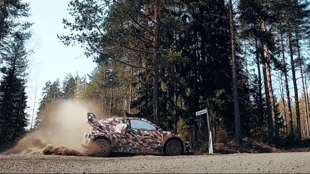 Toyota Gazoo Racing Hybrid WRC