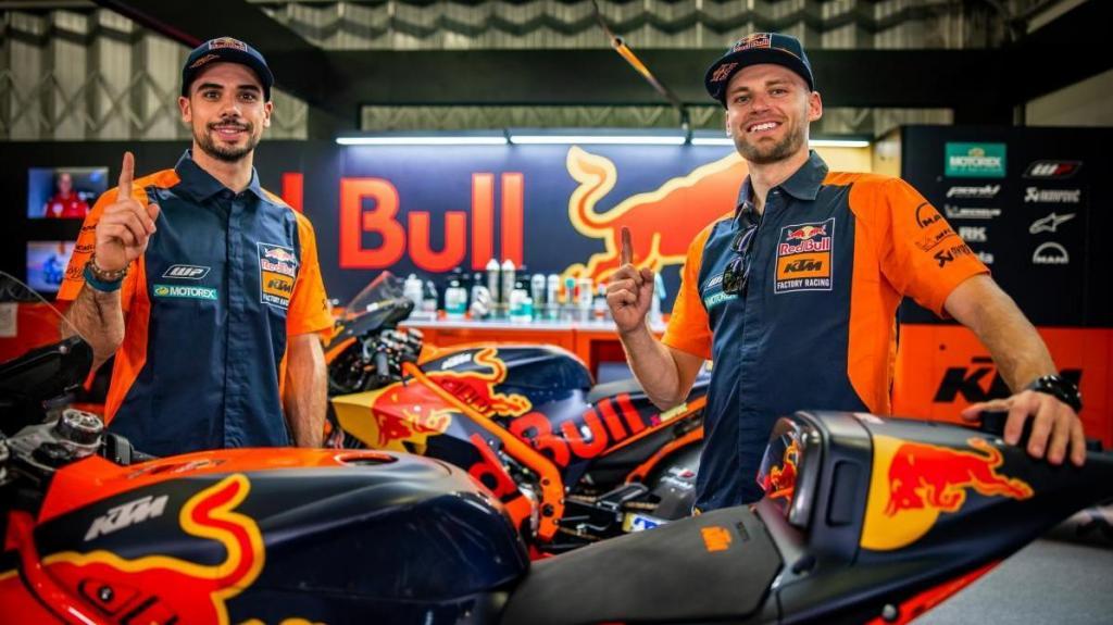 Miguel Oliveira e Brad Binder (KTM)