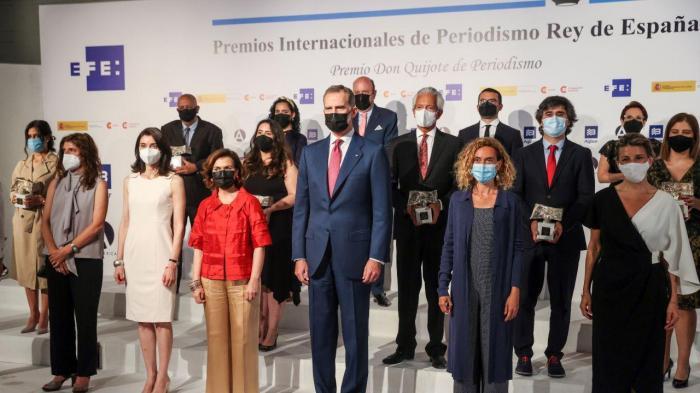 Entrega dos prémios de jornalismo Rei de Espanha