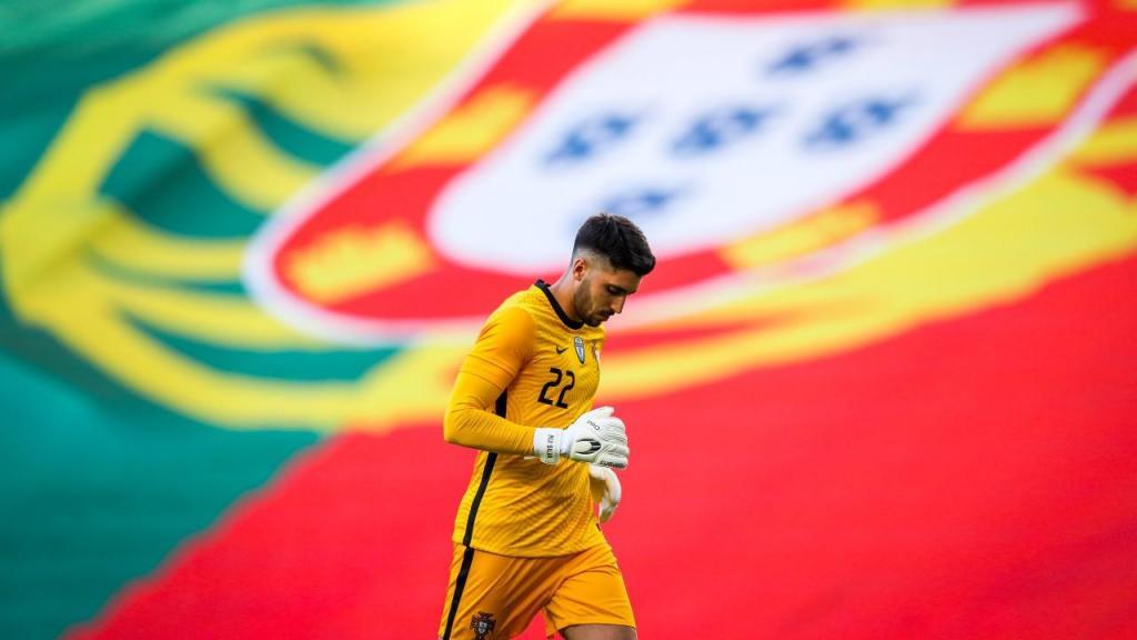 Rui Silva em estreia pela seleção, no Portugal-Israel (José Sena Goulão/LUSA)