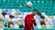 Cristiano Ronaldo no Portugal-Israel (Manuel de Almeida/LUSA)