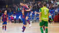 André Coelho no Barcelona-Inter Movistar. Catalães apuram-se para as meias-finais da liga (FC Barcelona)