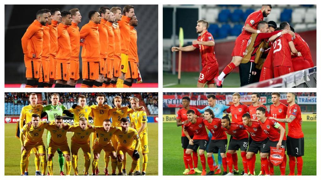 Euro2020: as equipas do Grupo C